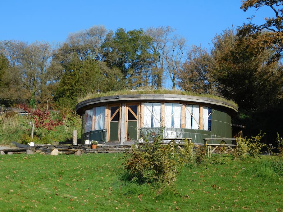 The Roundhouse in the Autumn sun