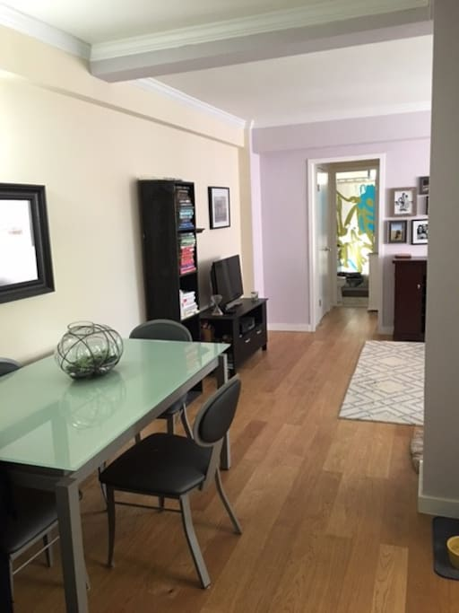 Dining area/common space