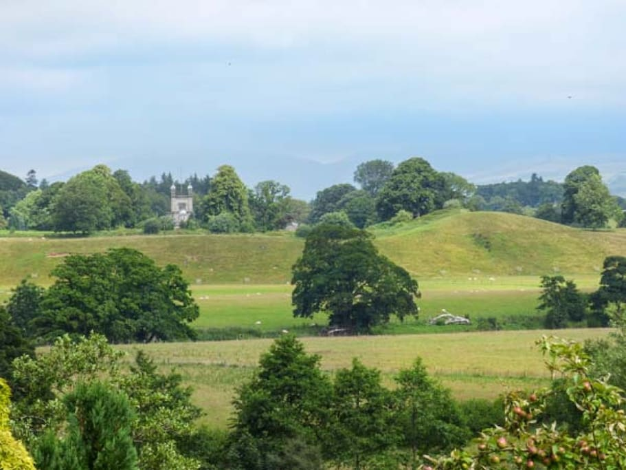 View over to Underley Hall