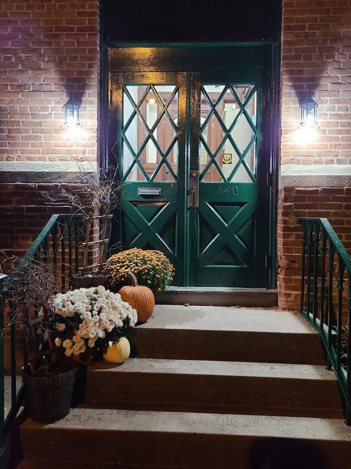 Beautifull spacious apartment in historic building