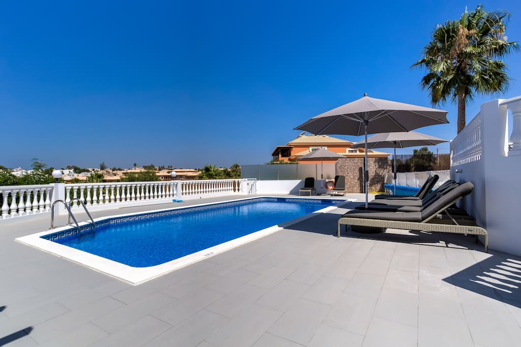 Stunning views from the pool area