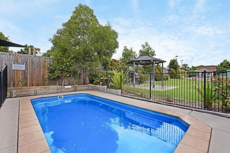 Clean & Comfortable with Swimming Pool !
