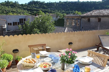 Large sunny terrace separate floor - Lagrasse - Other