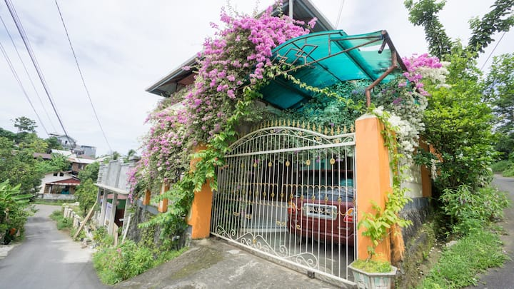 Private Room AC for Two at Flower House Residence