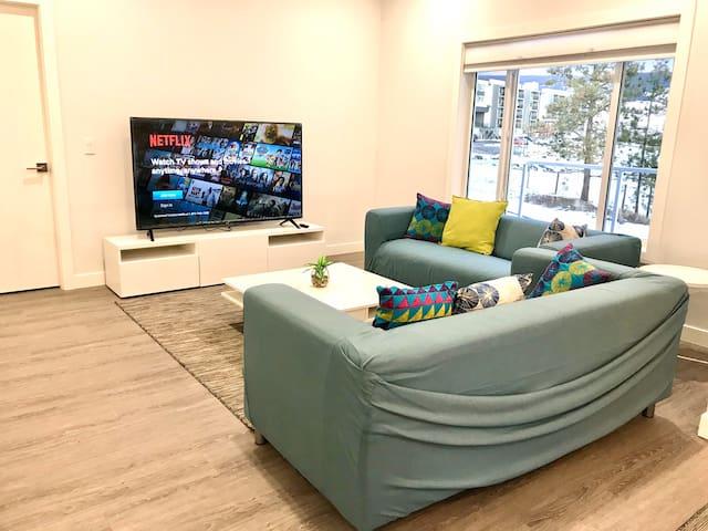 Stylish brand new house near university/monthly