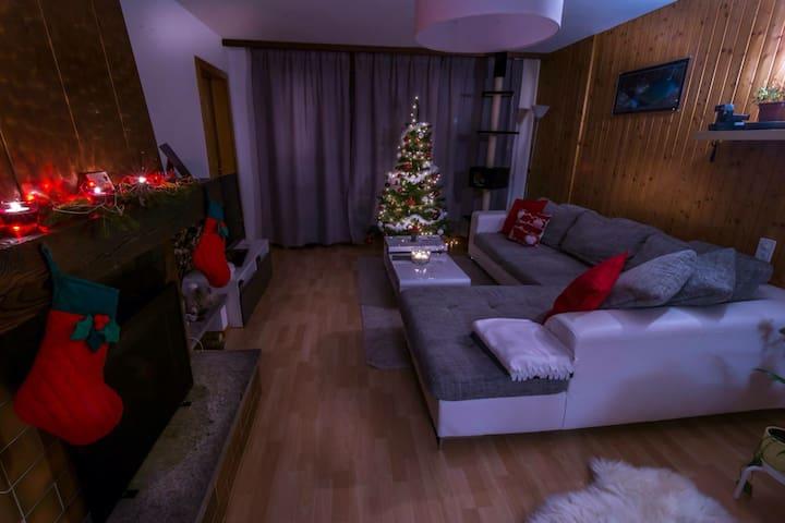 Un appartement chaleureux - Leysin - Daire
