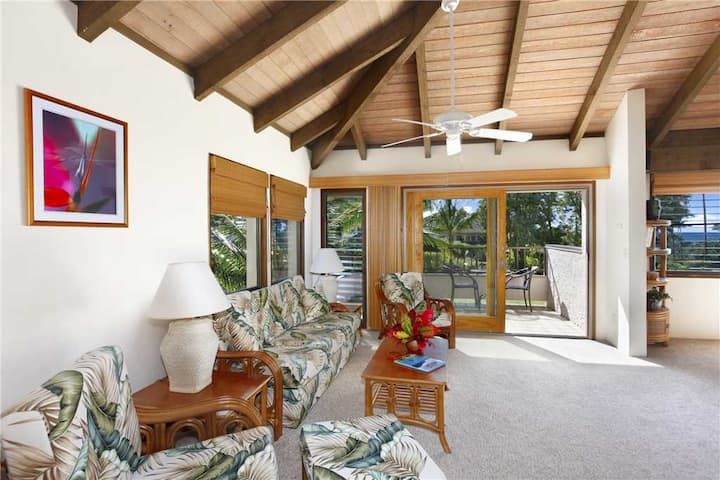 "Poipu Vacation Rental take a Walk to Poipu Beach ""A/C Master Suite"" *Kahala 724*"