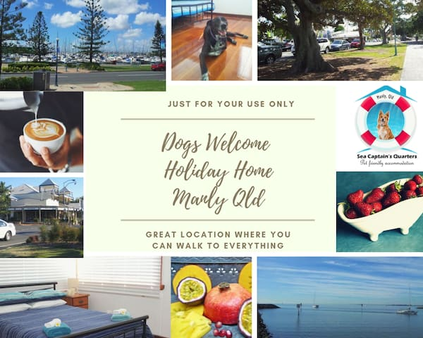 House just for you and your Pets Central Manly Qld