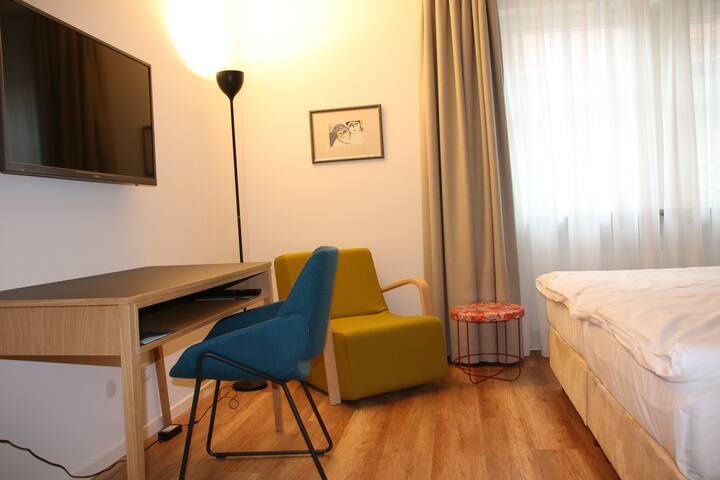 """Hotel """"Am Torturm"""" (Volkach), Doppelzimmer M zur Einzelnutzung"""