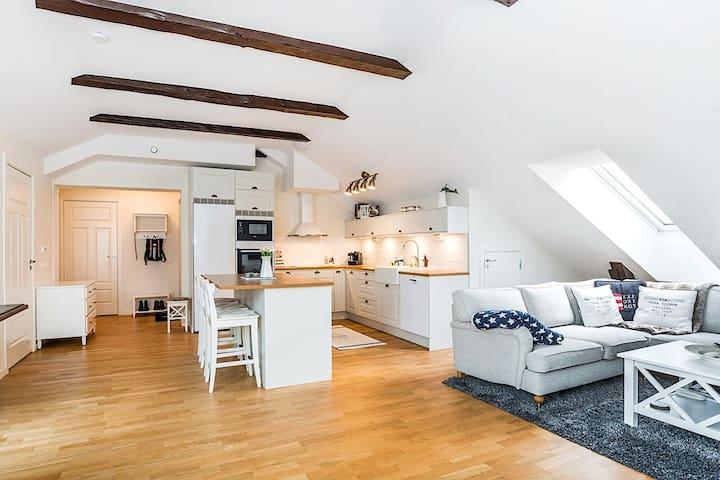 Piękny apartament w spokojnej okilicy Chełm - Chełm - Daire