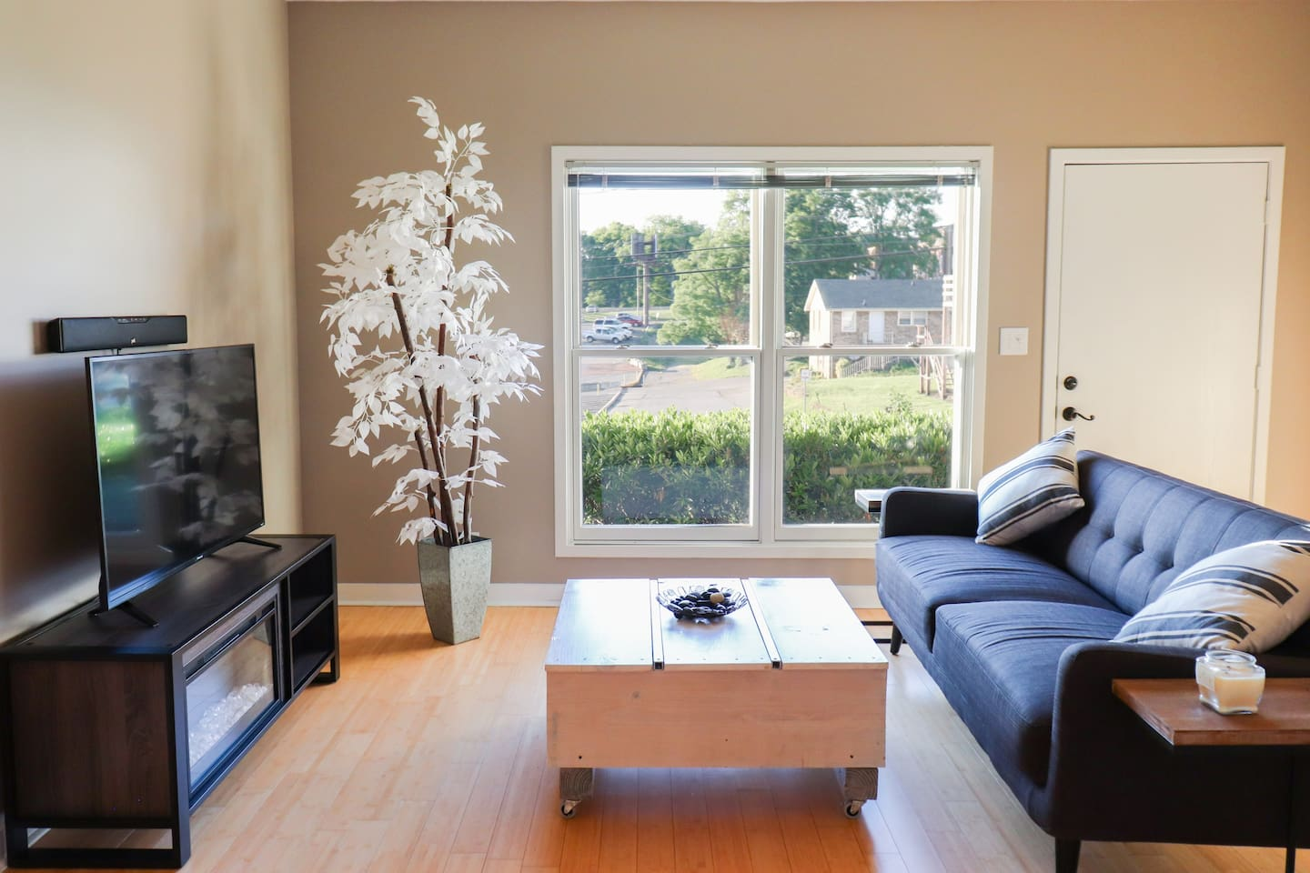 Relax and enjoy this living space!