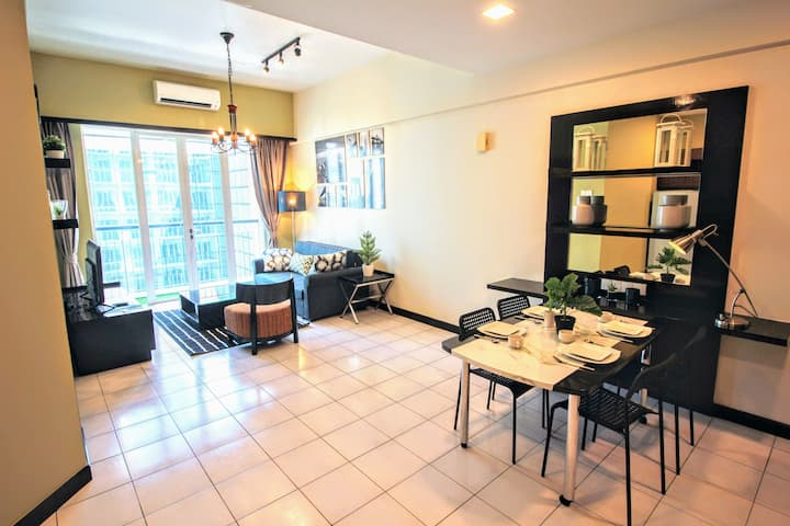 Newly furnished 1 bedroom space in Kuala Lumpur 92
