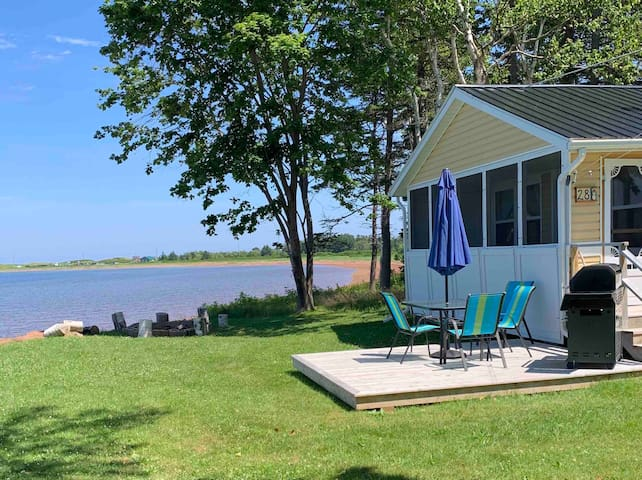 Private Beachfront Two Bedroom Cottage