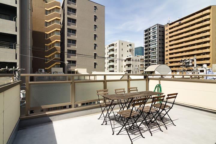 Umeda Sky Building 4BD NHM42 - Osaka - Dom