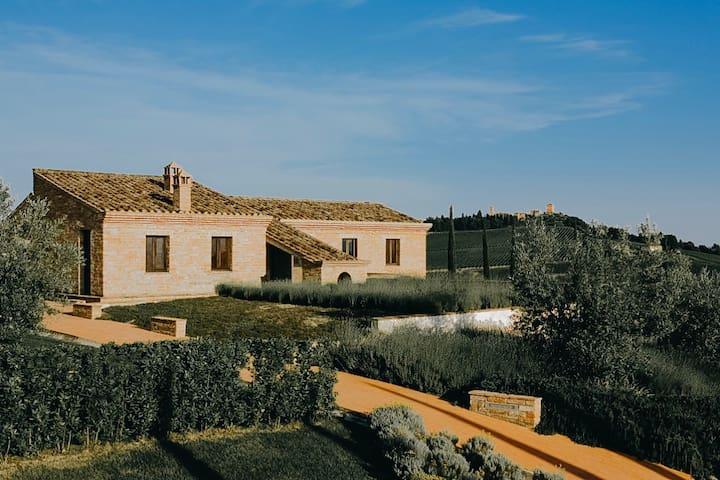 Villa Mozzafiato in Toscana a Montepulciano