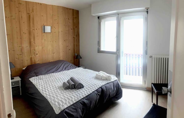 Appartement plein centre 50 m2 Vue Mont-Blanc