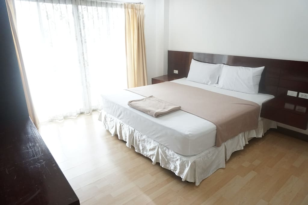 Bedroom 1&3 king size can be add 1 extra bed