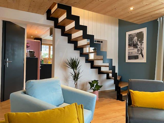 Appartement EVEREST - 70 m2 design, clair et calme