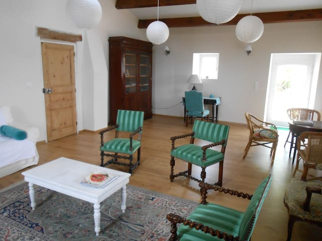 """Cévennes """"nid d'aigle"""" vue-calme-piscine-piano... - Sainte-Croix-de-Caderle - House"""