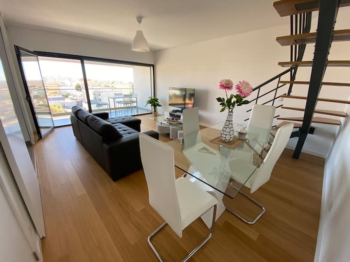 Appartement terrace F2 ready to beach/Faro Algarve