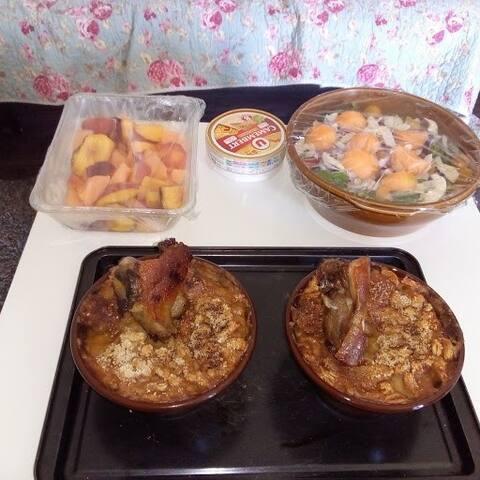 Repas  fait maison sur demande