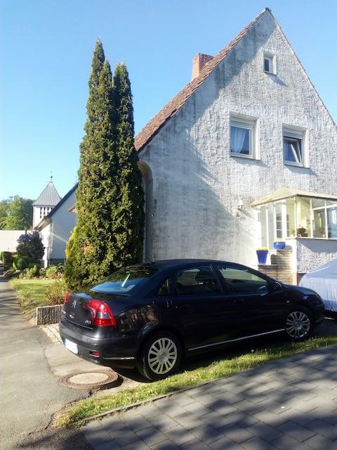 Ferienwohnung mit Garten in Schieder