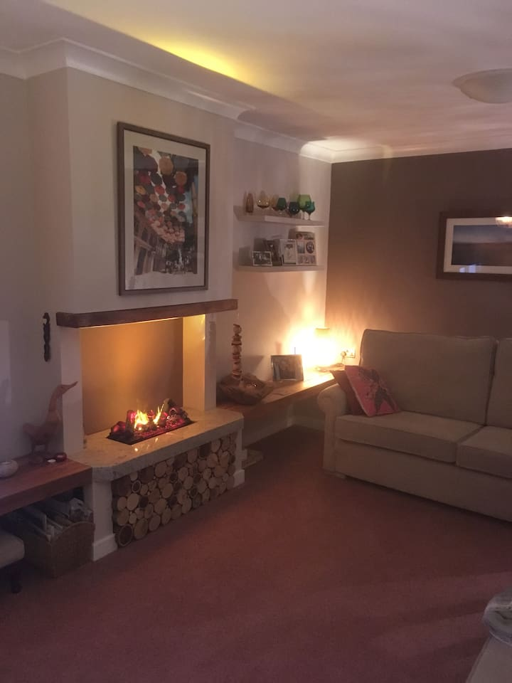 Lounge, a cosy shared area.