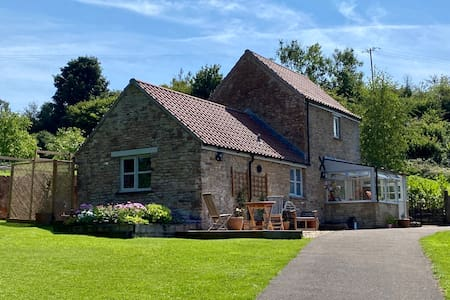 Stream Cottage in glorious Somerset countryside.