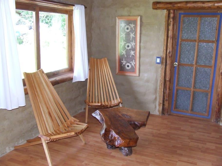 Ambiente natural, adobe, madera…