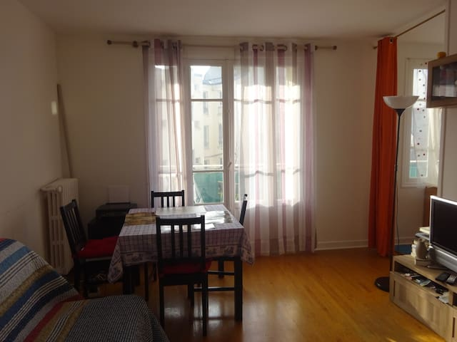 40 m² appartement (ideal couples to visit Paris)