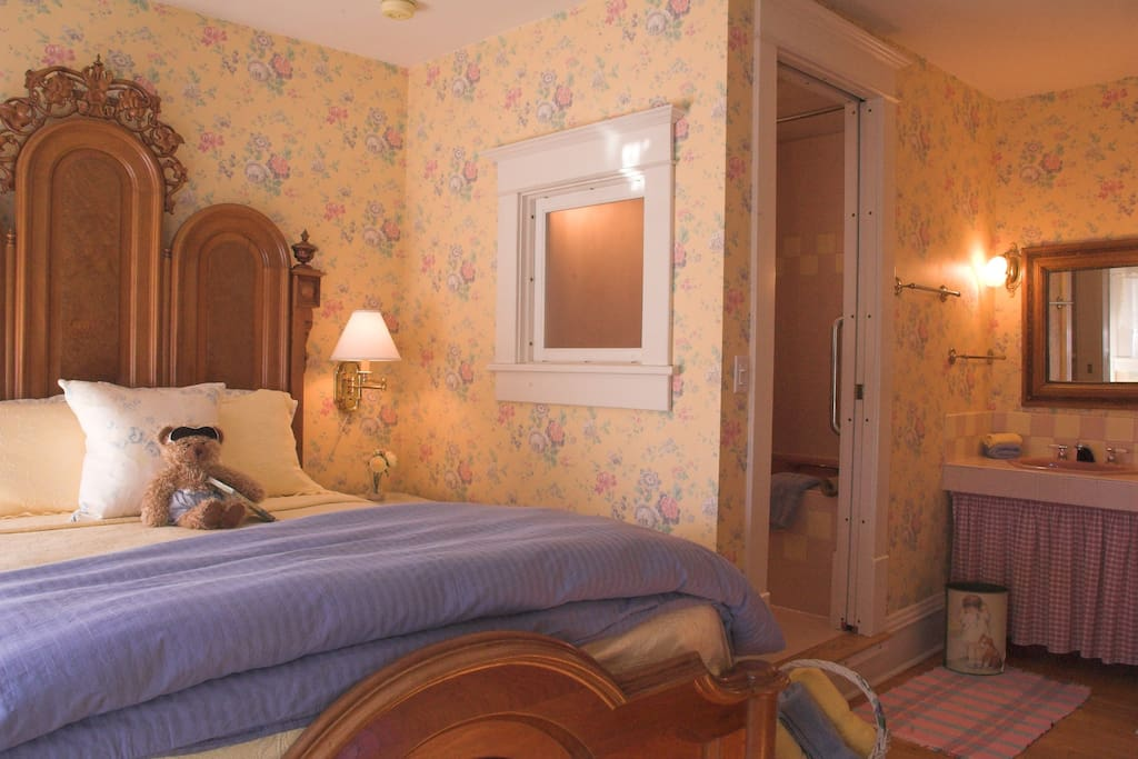 elegant 1880's Renaissance Victorian bed.