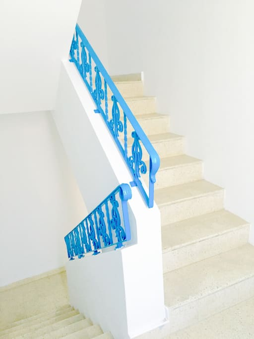 Stairs to Suite #2