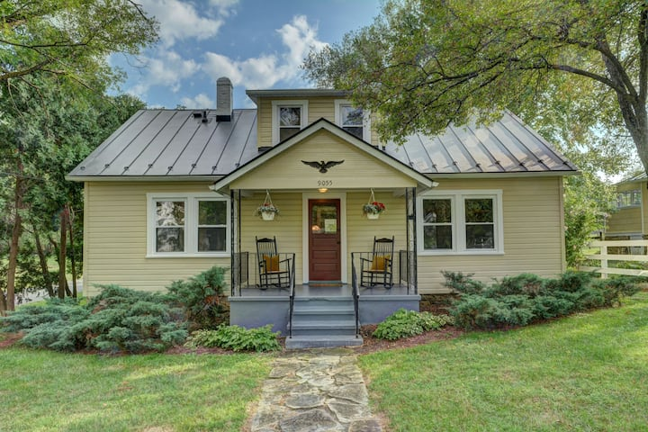 Upperville Hunt Country Cottage