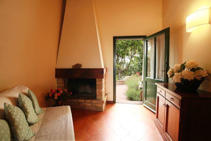 Lovely country house in chianti-La Casina x 2 pax - Certaldo - 公寓