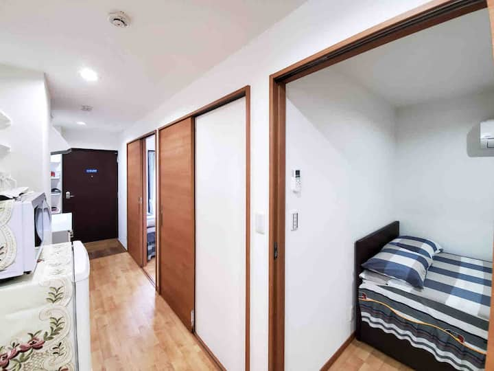 NEW Shinjuku three bedroom two toilet to 8people