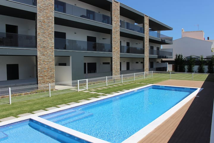 Apartment with pool and big balcony in Cabanas