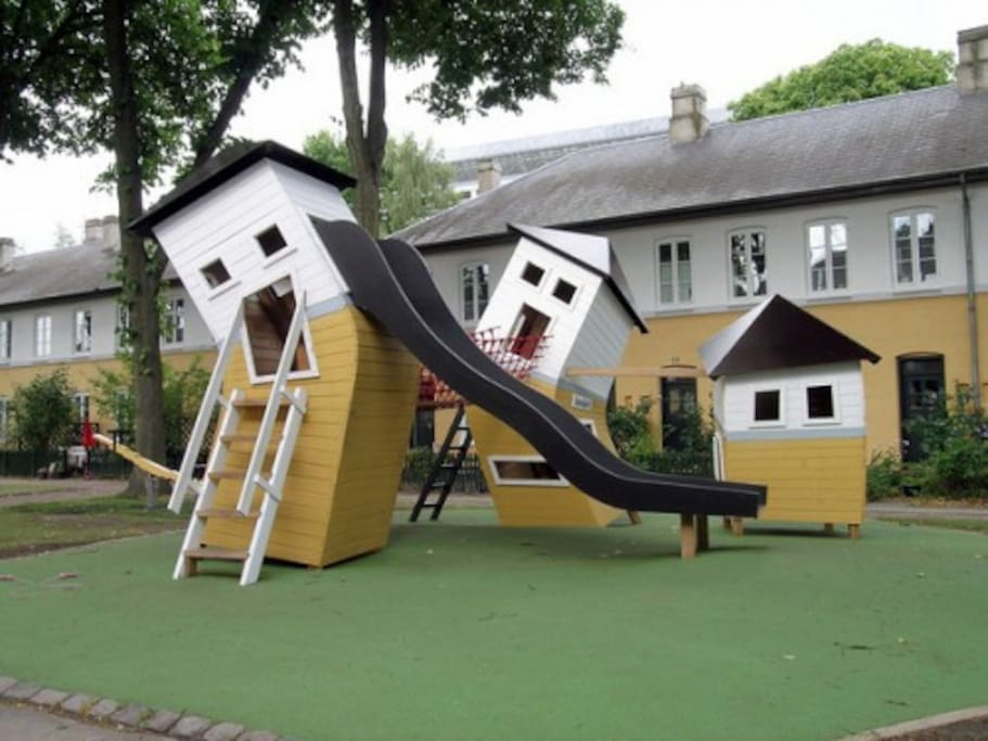 Playground just outside