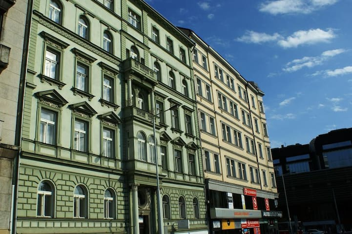 Apartment for couples or singles in Prague 2 [601]