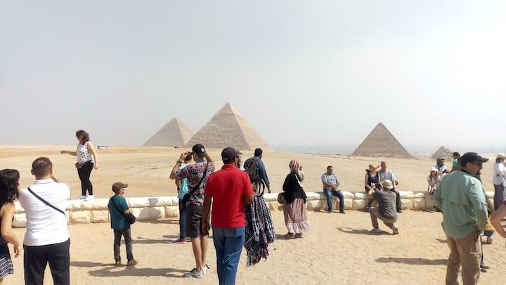 PANORAMA PYRAMIDS VIEW Yes pyramides tour
