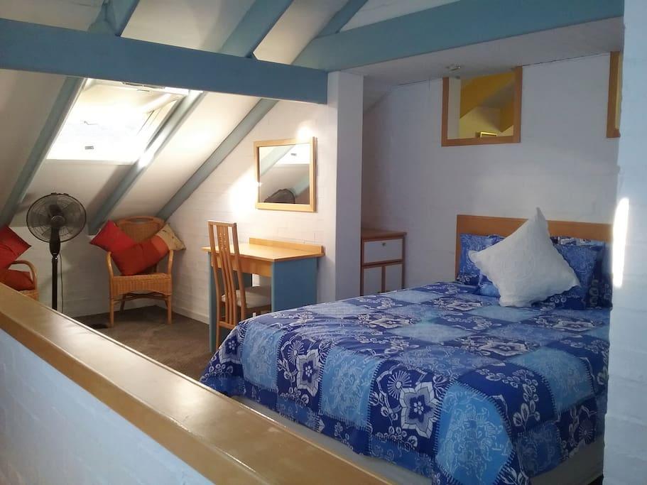 Queen Bedded Bedroom