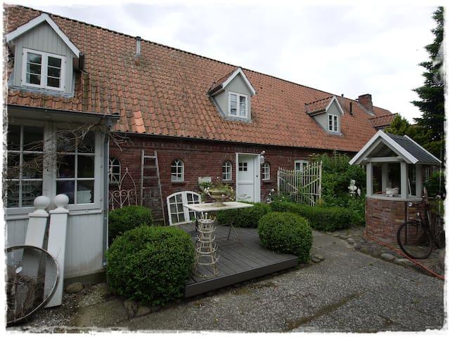 lille weiß feriehus - Drelsdorf - Apartamento