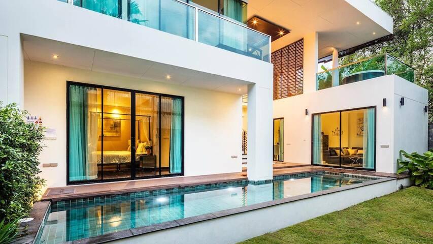 New 5stars Pool Villa  Resort 3Bedrooms 299sq m