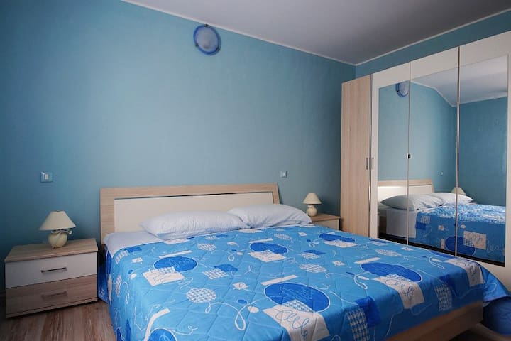 """1266"" Apartment for 4 people - BLUE - Flengi - Lägenhet"