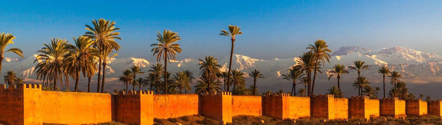 Au coeur de la Kasbah - Marrakesh - Huis