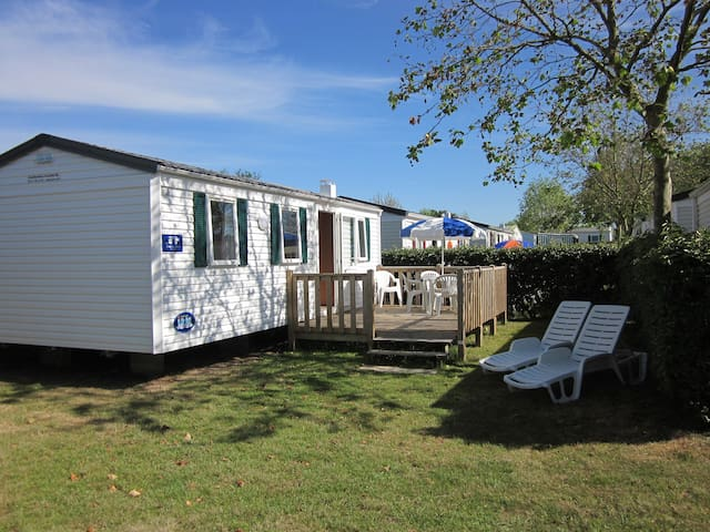 Three Bed Mobile Home on 5*Campsite