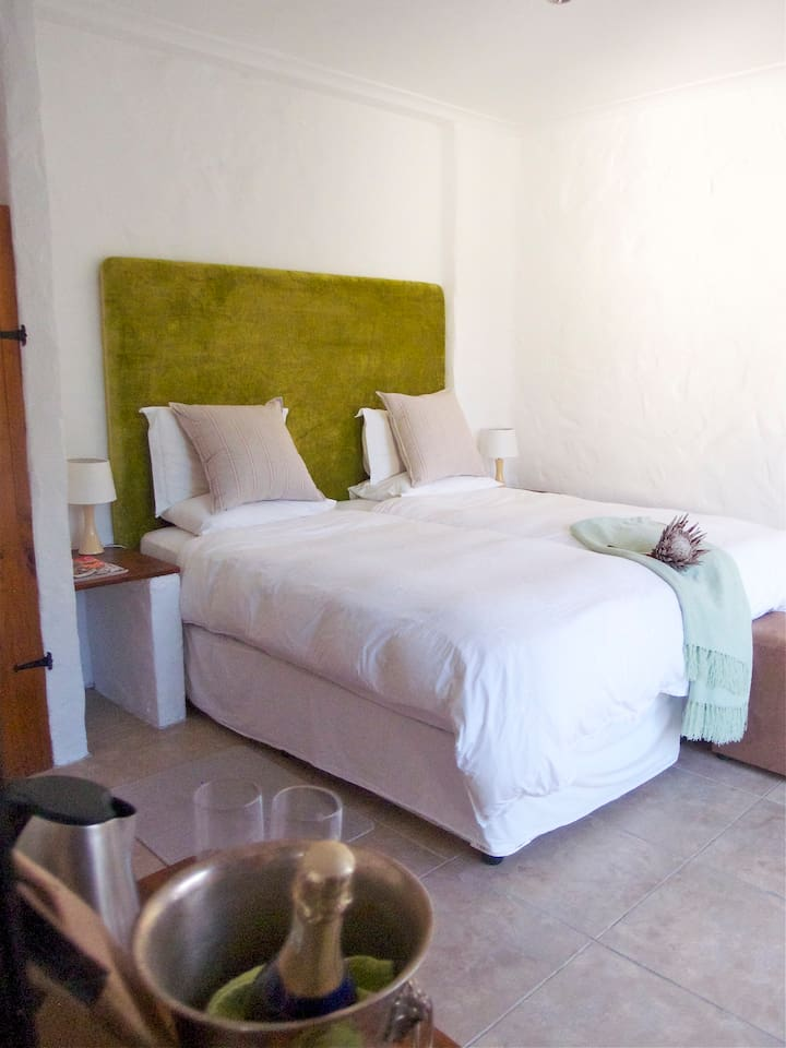 Fully serviced room in a beautiful setting.