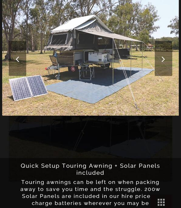This is our ModCon set up with the touring awning