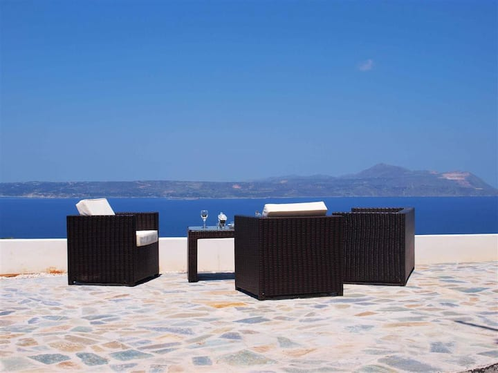 Private  pool★Sea view★Big  sea view terrace 100m2
