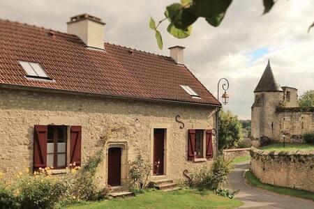 Le clos de la tourelle,gîte de charme en Champagne - Arcis-le-Ponsart