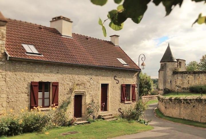 Cottage maison XVIII ème en Champagne